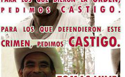 COPINH : le Tribunal de Jugement condamne le sous-officier du Bataillon des Ingénieurs d'homicide involontaire contre Tomas Garcia Dominguez