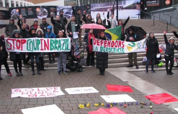 Des organisations canadiennes dénoncent le gouvernement intérimaire illégitime au Brésil