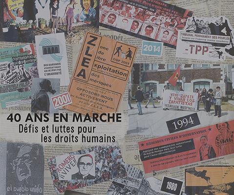 40 ans en marche: défis et luttes pour les droits humains: l'édition 2016 de Caminando est maintenant disponible!